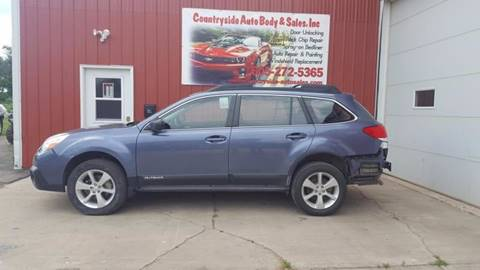 2014 Subaru Outback for sale at Countryside Auto Body & Sales, Inc in Gary SD