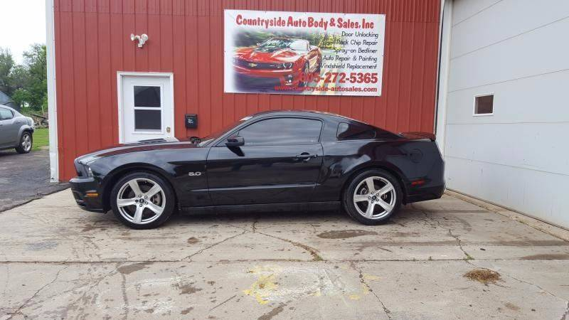 2013 Ford Mustang for sale at Countryside Auto Body & Sales, Inc in Gary SD