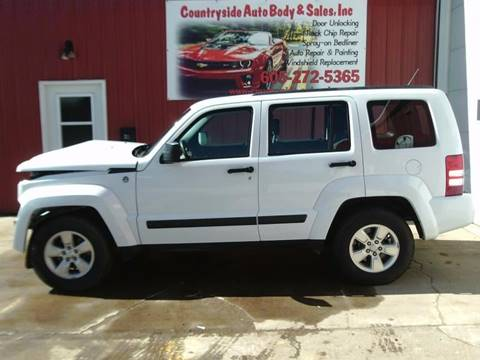 2011 Jeep Liberty for sale at Countryside Auto Body & Sales, Inc in Gary SD