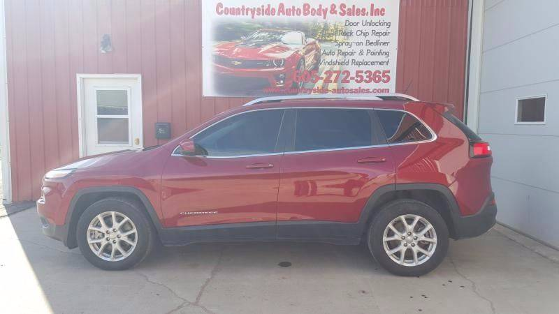 2015 Jeep Cherokee for sale at Countryside Auto Body & Sales, Inc in Gary SD