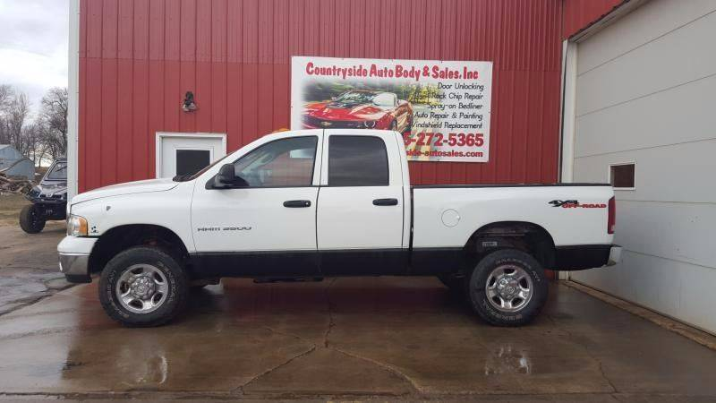 2004 Dodge Ram Pickup 3500 for sale at Countryside Auto Body & Sales, Inc in Gary SD