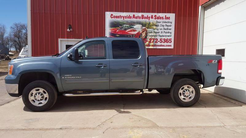 2008 GMC Sierra 2500HD for sale at Countryside Auto Body & Sales, Inc in Gary SD