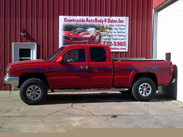 2003 Chevrolet Silverado 1500 for sale at Countryside Auto Body & Sales, Inc in Gary SD