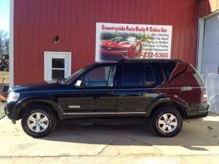 2008 Ford Explorer for sale at Countryside Auto Body & Sales, Inc in Gary SD