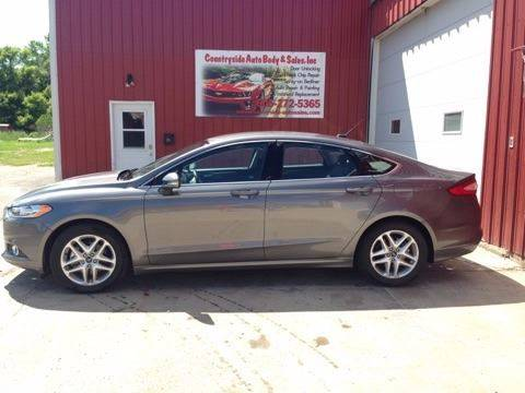 2014 Ford Fusion for sale at Countryside Auto Body & Sales, Inc in Gary SD