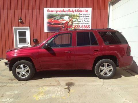 2007 Chevrolet TrailBlazer for sale at Countryside Auto Body & Sales, Inc in Gary SD