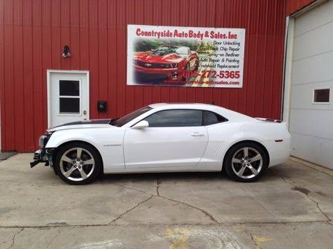 2012 Chevrolet Camaro for sale at Countryside Auto Body & Sales, Inc in Gary SD