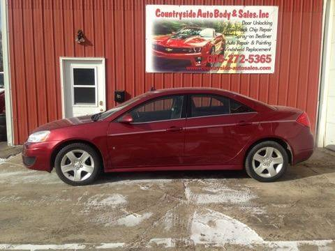 2010 Pontiac G6 for sale at Countryside Auto Body & Sales, Inc in Gary SD