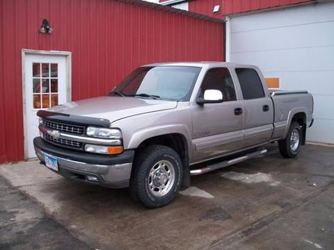 2002 Chevrolet Silverado 1500HD for sale at Countryside Auto Body & Sales, Inc in Gary SD