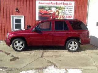 2008 Chevrolet TrailBlazer for sale at Countryside Auto Body & Sales, Inc in Gary SD