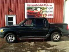 2004 Ford Explorer Sport Trac for sale at Countryside Auto Body & Sales, Inc in Gary SD