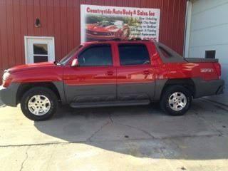 2002 Chevrolet Avalanche for sale at Countryside Auto Body & Sales, Inc in Gary SD