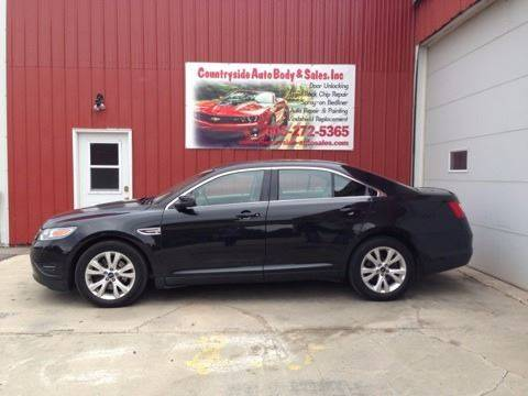 2010 Ford Taurus for sale at Countryside Auto Body & Sales, Inc in Gary SD