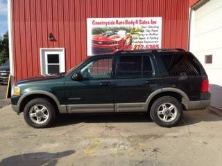 2002 Ford Explorer for sale at Countryside Auto Body & Sales, Inc in Gary SD
