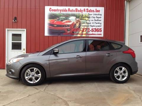 2013 Ford Focus for sale at Countryside Auto Body & Sales, Inc in Gary SD
