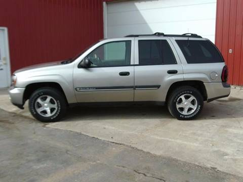 2002 Chevrolet TrailBlazer for sale at Countryside Auto Body & Sales, Inc in Gary SD