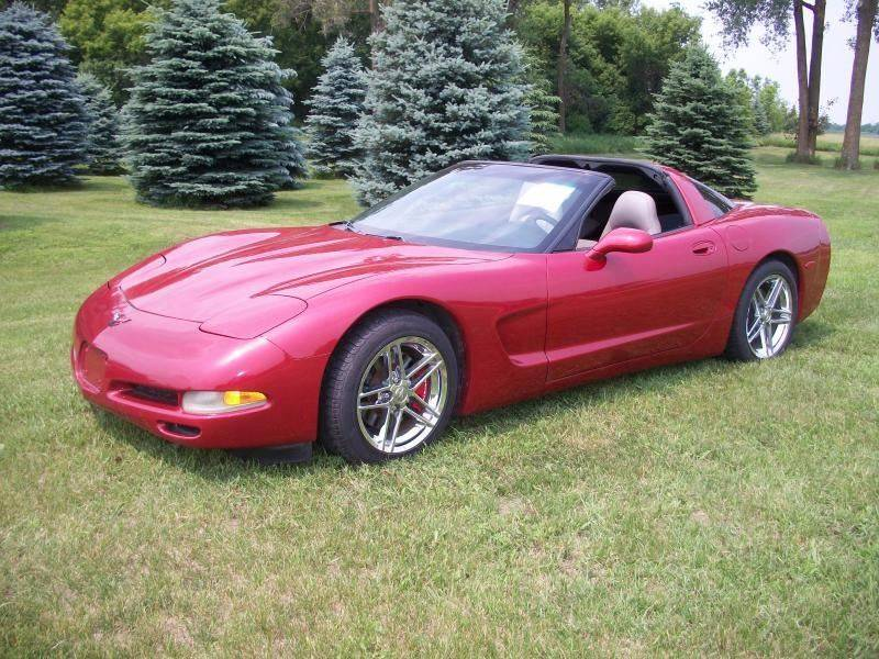 1998 Chevrolet Corvette for sale at Countryside Auto Body & Sales, Inc in Gary SD