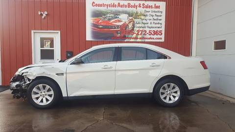2012 Ford Taurus for sale at Countryside Auto Body & Sales, Inc in Gary SD