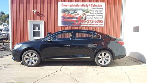 2011 Buick LaCrosse for sale at Countryside Auto Body & Sales, Inc in Gary SD