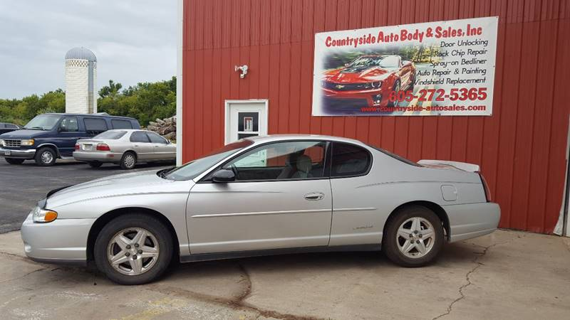 2003 Chevrolet Monte Carlo for sale at Countryside Auto Body & Sales, Inc in Gary SD