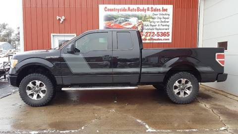 2013 Ford F-150 for sale at Countryside Auto Body & Sales, Inc in Gary SD