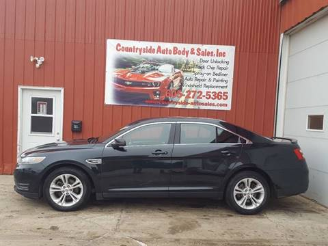 2014 Ford Taurus for sale at Countryside Auto Body & Sales, Inc in Gary SD