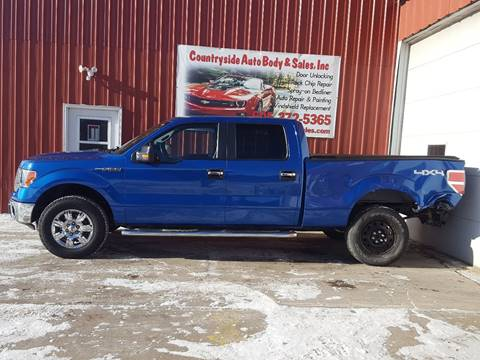 2012 Ford F-150 for sale at Countryside Auto Body & Sales, Inc in Gary SD