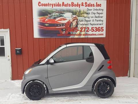 2013 Smart fortwo for sale at Countryside Auto Body & Sales, Inc in Gary SD