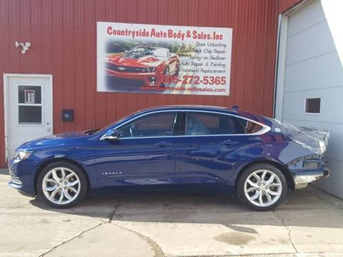 2014 Chevrolet Impala for sale at Countryside Auto Body & Sales, Inc in Gary SD