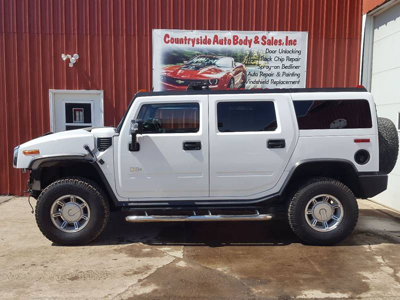 2006 HUMMER H2 for sale at Countryside Auto Body & Sales, Inc in Gary SD