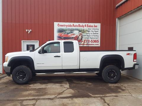 2012 GMC Sierra 2500HD for sale at Countryside Auto Body & Sales, Inc in Gary SD
