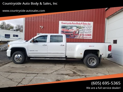 2017 GMC Sierra 3500HD for sale at Countryside Auto Body & Sales, Inc in Gary SD