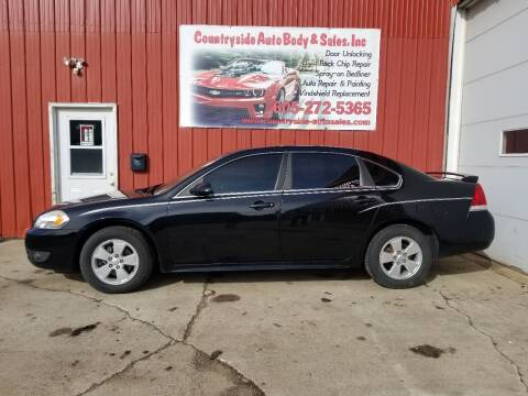 2010 Chevrolet Impala for sale at Countryside Auto Body & Sales, Inc in Gary SD