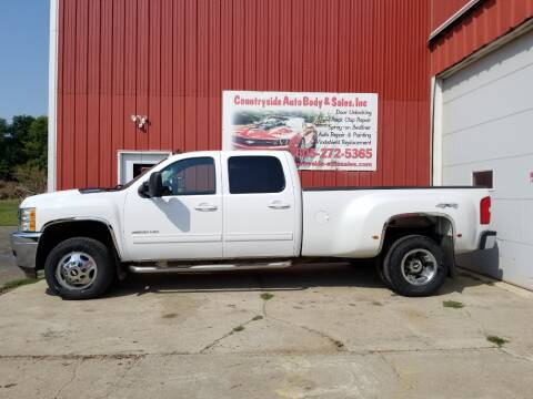 2011 Chevrolet Silverado 3500HD for sale at Countryside Auto Body & Sales, Inc in Gary SD