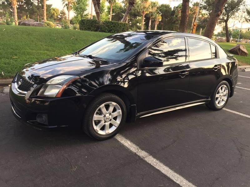 2011 Nissan Sentra 20 Sr 4dr Sedan In Las Vegas Nv Black White