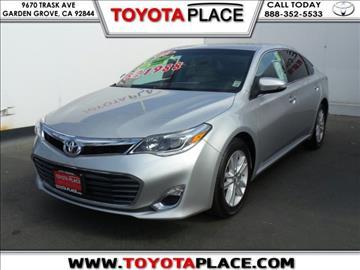 2013 Toyota Avalon for sale in Garden Grove, CA