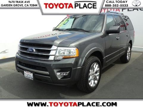 2015 Ford Expedition for sale in Garden Grove, CA
