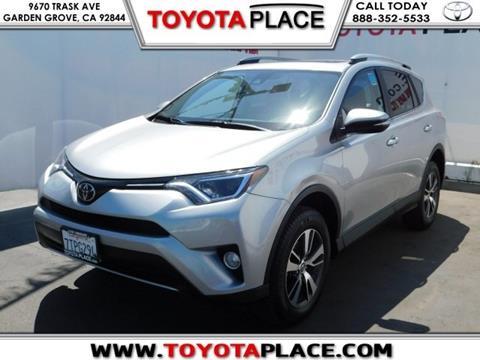 2017 Toyota RAV4 for sale in Garden Grove, CA