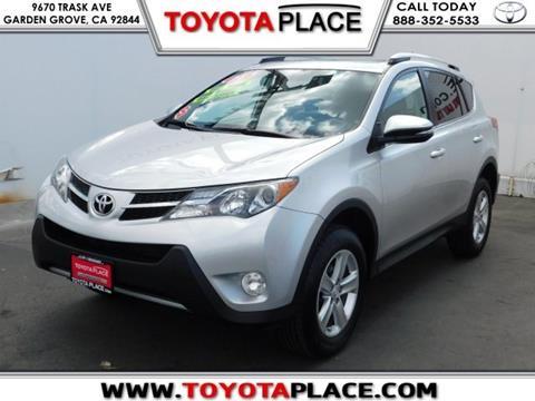 2014 Toyota RAV4 for sale in Garden Grove, CA