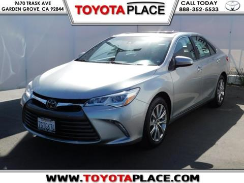 2015 Toyota Camry for sale in Garden Grove, CA