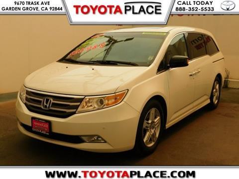 2012 Honda Odyssey for sale in Garden Grove, CA