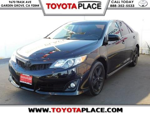 2014 Toyota Camry for sale in Garden Grove, CA