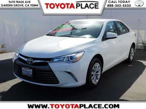 2017 Toyota Camry for sale in Garden Grove, CA