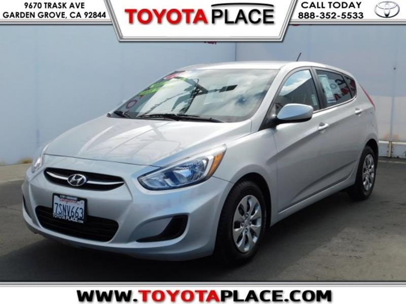 2016 Hyundai Accent SE In Garden Grove CA Toyota Place