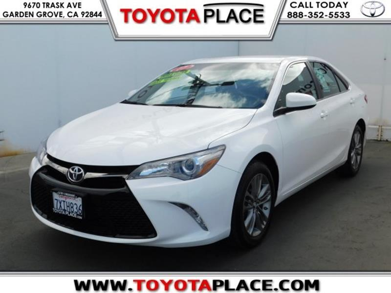 2017 Toyota Camry SE In Garden Grove CA Toyota Place