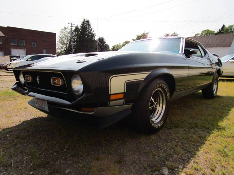 1972 Ford Mustang In Stanley WI - Cody\'s Classic Cars