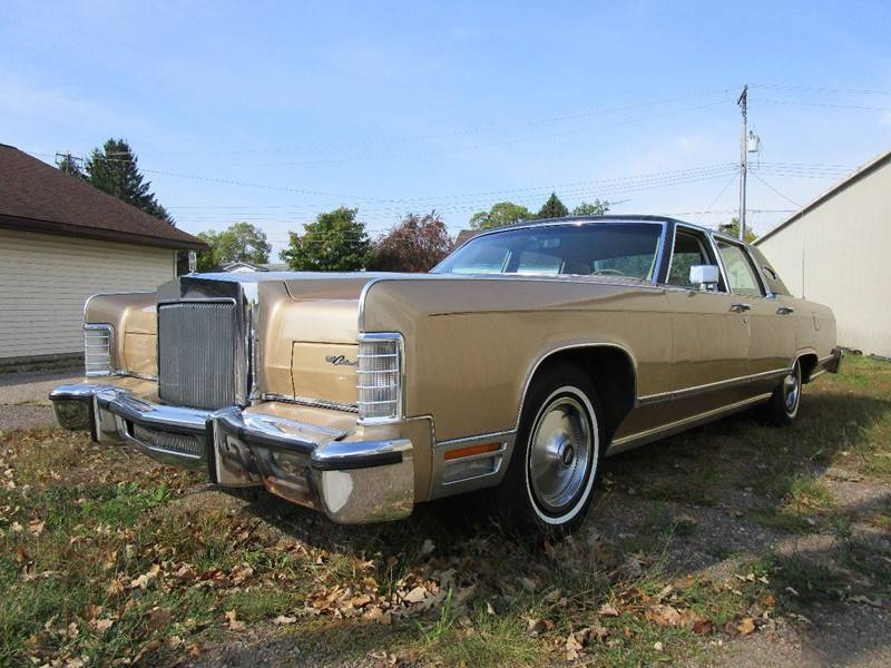 1978 Lincoln Continental In Stanley WI - Cody\'s Classic Cars
