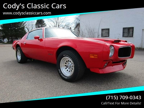 1971 Pontiac Firebird for sale in Stanley, WI