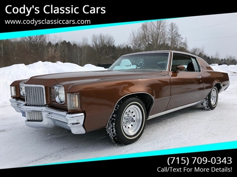 1971 Pontiac Grand Prix for sale in Stanley, WI