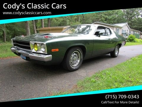 1974 Plymouth Roadrunner for sale in Stanley, WI